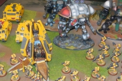 Imperial Fists & Knights