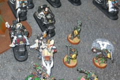 Imperial Fists & Dark Angels
