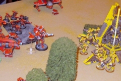 Imperial Fists & Tau