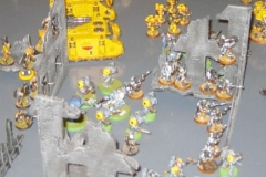 Imperial Fists & Space Wolves