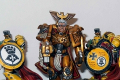 Rogal Dorn and Templar Bretheran