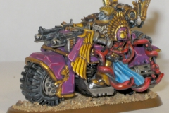 Chaos Lord on Bike